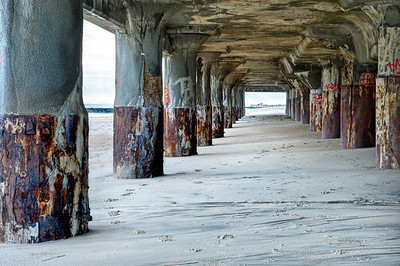 #190 Beneath Convention Hall, Asbury Park, NJ.