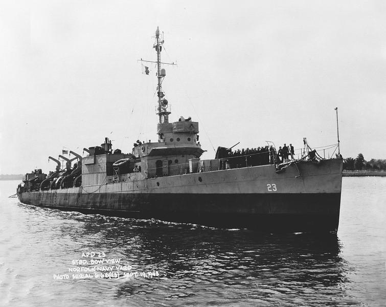 USS Overton (APD-23)