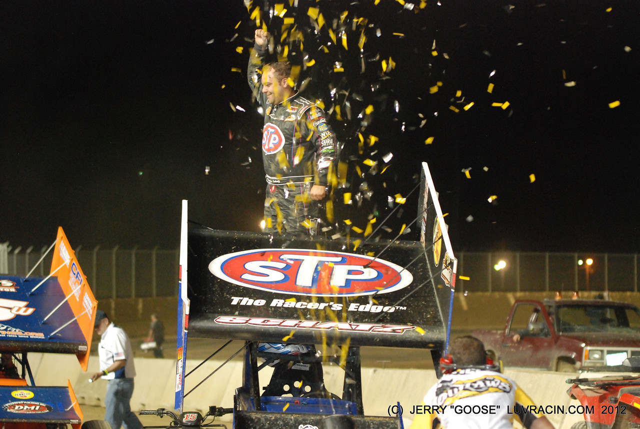 MY THIRD WOO AND DONNY SCHATZ 3 RD WIN I NOW HAVE 3 DRIVERS WITH 3 IN A ROW WINS I HAVE COVERED !