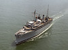 USS Vulcan (AR-5)<br /> <br /> Date: July 11 1985<br /> Location: Hampton Roads, VA<br /> Source: Nobe Smith - Atlantic Fleet Sales