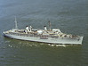 USS Vulcan (AR-5)<br /> <br /> Date: March 21 1983<br /> Location: Hampton Roads, VA<br /> Source: Nobe Smith - Atlantic Fleet Sales