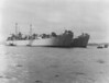 USS Typhon (ARL-28)<br /> <br /> Date: Unknown (late 40s?)<br /> Location: Unknown (San Diego?)<br /> Source: Nobe Smith - Atlantic Fleet Sales