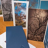 PANORAMIC TREE PORTRAITS, book, case, opened book