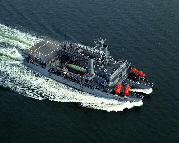 USS Ortolan (ASR-22) <br /> <br /> Date: May 1 1974<br /> Location: Hampton Roads VA<br /> Source: Nobe Smith - Atlantic Fleet Sales