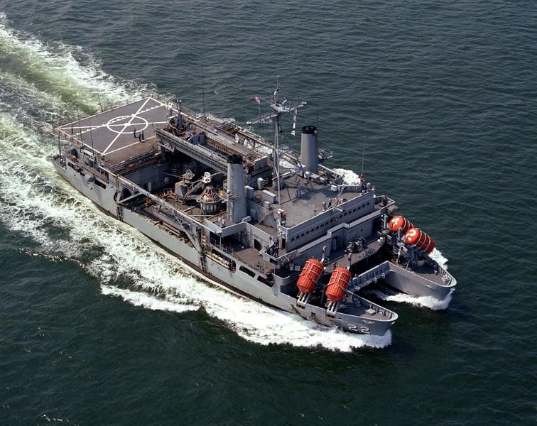 USS Ortolan (ASR-22) <br /> <br /> Date: June 5 1969<br /> Location: Hampton Roads VA<br /> Source: Nobe Smith - Atlantic Fleet Sales