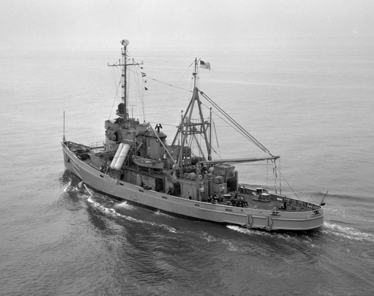 USS Skylark (ASR-20) <br /> <br /> Date: June 14 1960<br /> Location: Hampton Roads VA<br /> Source: Nobe Smith - Atlantic Fleet Sales