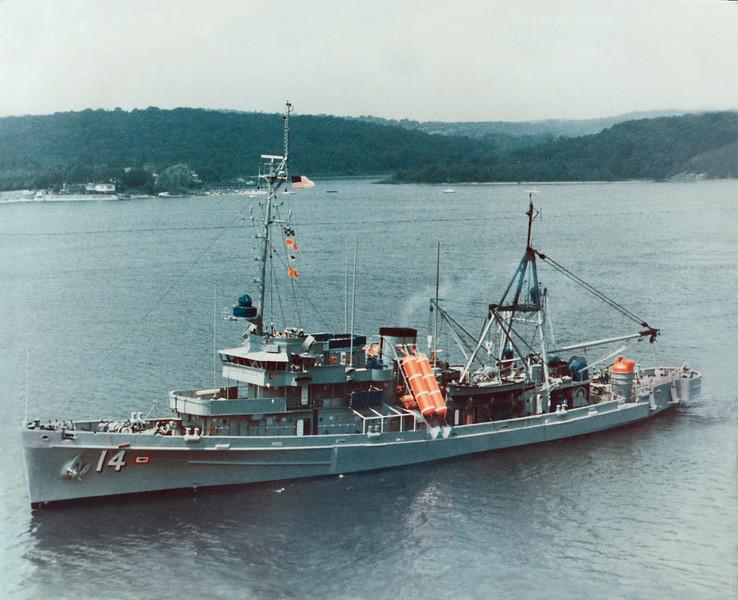 USS Petrel (ASR-14) <br /> <br /> Date: Unknown<br /> Location: Unknown<br /> Source: Nobe Smith - Atlantic Fleet Sales