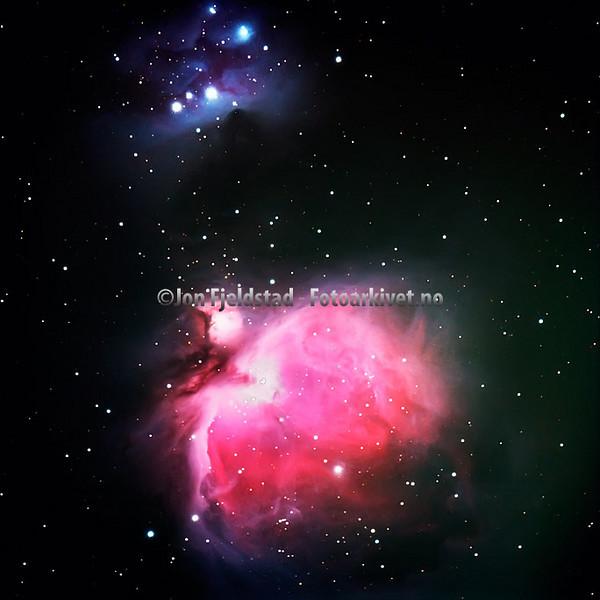 ORIONTÅKEN - MESSIER 42 - NGC 1976