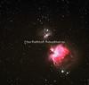 ORIONTÅKEN M42 OG M43 - ORION NEBULA - MESSIER 42 -MESSIER 43 -  NGC 1976 - NGC 1982 -  THE RUNNING MAN NEBULA NGC 1977