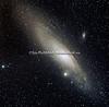 NGC 224 - M31  - MESSIER 31 - ANDROMEDAGALAKSEN - ANDROMEDA GALAXY - SPIRAL GALAKSE  - AVSTAND TIL JORDEN ER CA. 2,5 MILLIONER LYSÅR.