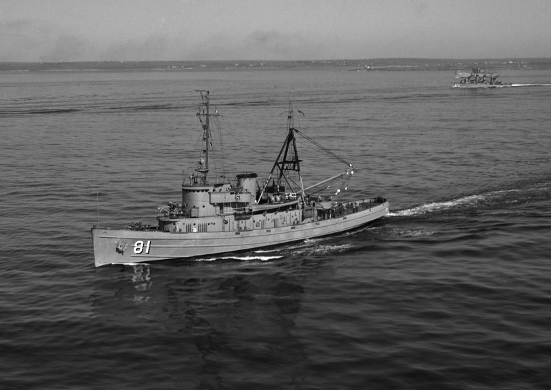 USS Bannock (ATF-81)<br /> <br /> Date: May 10 1955<br /> Location: Newport RI or New London CT area<br /> Source: Nobe Smith - Atlantic Fleet Sales