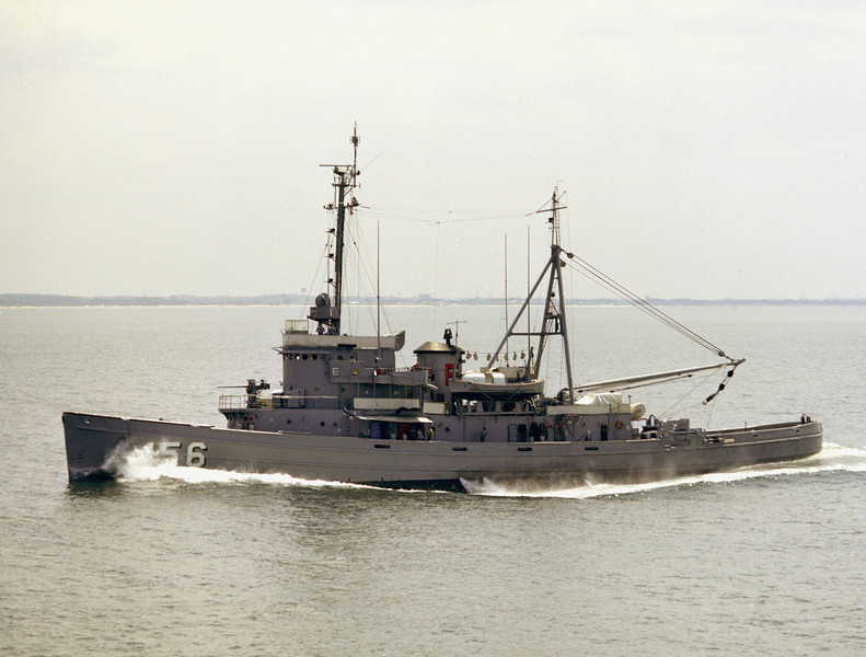 USS Luiseno (ATF-156)<br /> <br /> Date: June 1973<br /> Location: Hampton Roads VA<br /> Source: Nobe Smith - Atlantic Fleet Sales