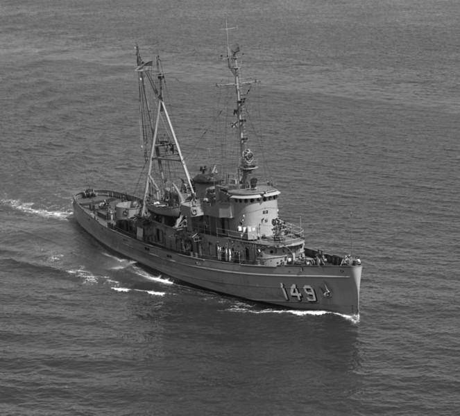 USS Atakapa (ATF-149)<br /> <br /> Date: April 1961<br /> Location: Hampton Roads VA<br /> Source: Nobe Smith - Atlantic Fleet Sales