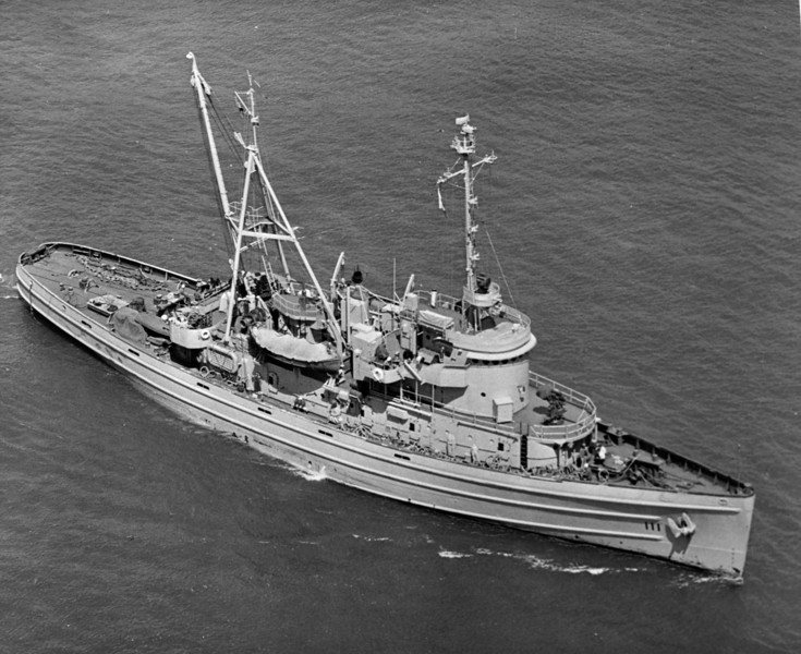 USS Sarsi (ATF-111)<br /> <br /> Date: 1948<br /> Location: Unknown<br /> Source: Nobe Smith - Atlantic Fleet Sales
