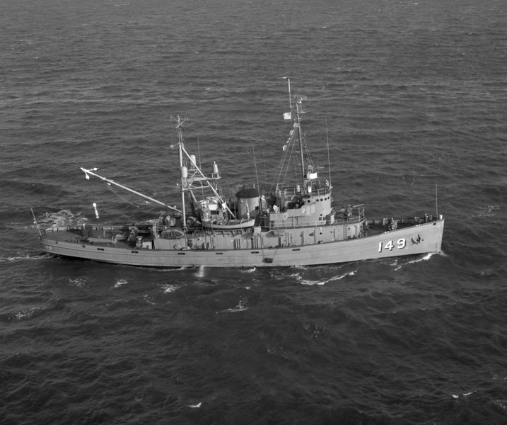 USS Atakapa (ATF-149)<br /> <br /> Date: January 1967<br /> Location: Hampton Roads VA<br /> Source: Nobe Smith - Atlantic Fleet Sales