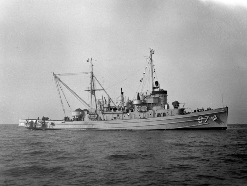 USS Alsea (ATF-97)<br /> <br /> Date: Unknown<br /> Location: Unknown<br /> Source: Nobe Smith - Atlantic Fleet Sales