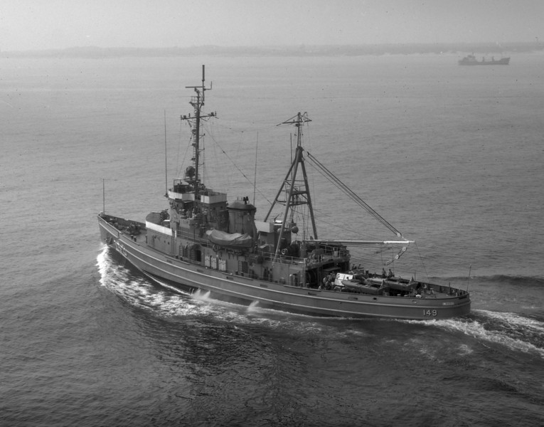 USS Atakapa (ATF-149)<br /> <br /> Date: June 1971<br /> Location: Hampton Roads VA<br /> Source: Nobe Smith - Atlantic Fleet Sales
