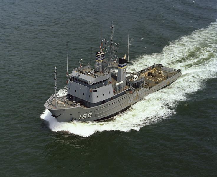 USNS Powhatan (T-ATF-166)<br /> <br /> Date: July 21 1981<br /> Location: Hampton Roads VA<br /> Source: Nobe Smith - Atlantic Fleet Sales