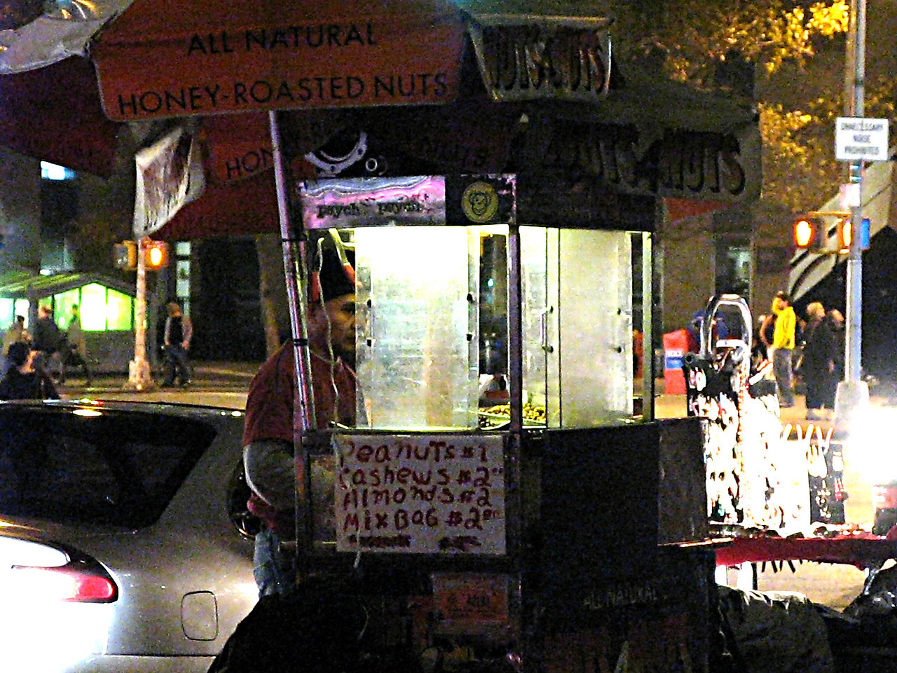 Street Vendor- Lower Manhattan ISO 3200