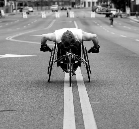 Disabled athlete photography in Brooklyn, NYC.  LA Marathon