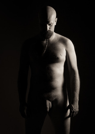 Nude fine art manc by NYC photography by Aaron Paul Rogers.