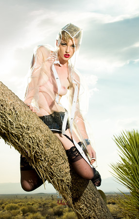 Desert fashion photoshoot by Aaron Paul Rogers.