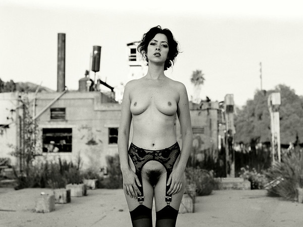 Nude Urban Exploration.