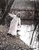 Bridge and Girl on Racoon Creek