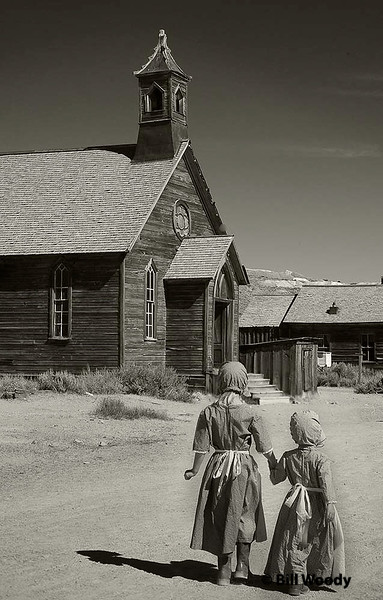 Going to Bodie Church<br /> Sept 2008<br /> Bodie Ghost town California