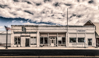 Street Scene, Oaksdale, WA