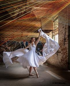 Megan, Fabric, & Strings #1