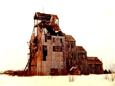 Abandoned copper mine, Hancock, Michigan, march 1964