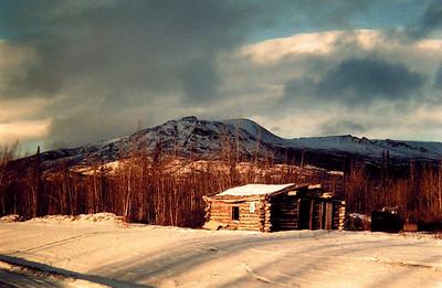 Alaska Hwy - Cracker Ck, Yukon Territory, nov 27, 1972
