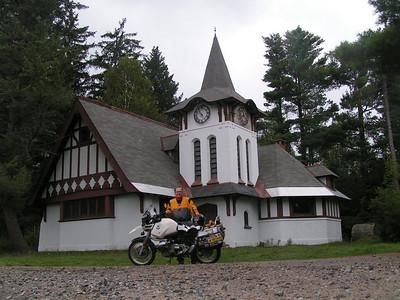 White Fathers Chapel, Lake Kushaqua, aug 29, 2004