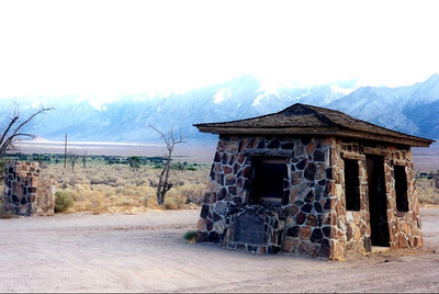 California  Manzanar, Japanese-American Internment Camp Owens Valley, CA, 8 15 98
