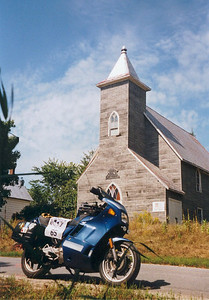 abandoned church, Poland, Ont Aug 31, 2002