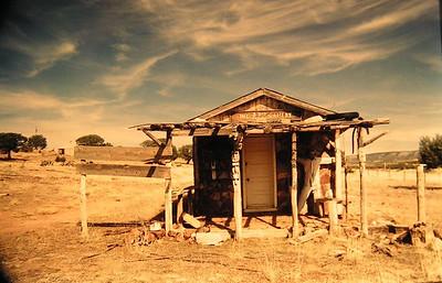 abandoned art gallery! Kansas, march, 1995