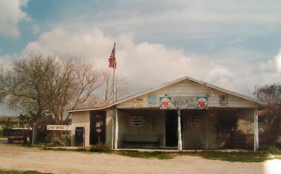 Texas   Lopeno, TX, general store & post office, feb 20, 1994