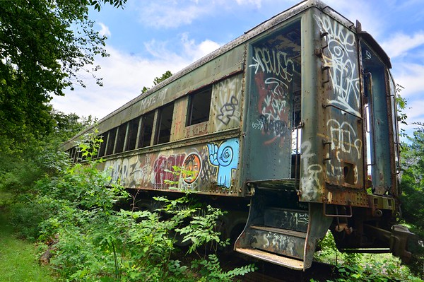 Abandoned Train - Lambertville, NJ