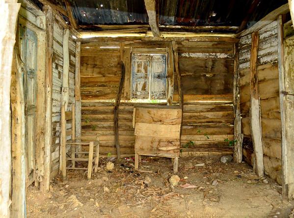 La Salle, Haiti abandoned house