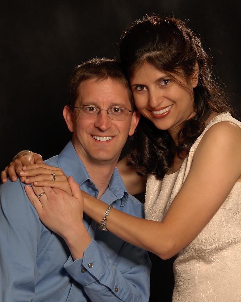 A rare shot of Dr. Charles Payet, who's usually behind the camera, and his amazing wife, Fara.
