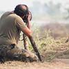 Me shooting Hoopoe at Vadhvana, Baroda, Gujarat, India