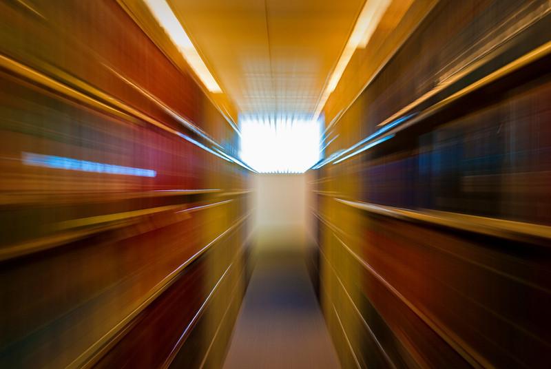 Speeding through the Library!