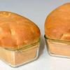 Beautifuly baken bread loafs with golden tops