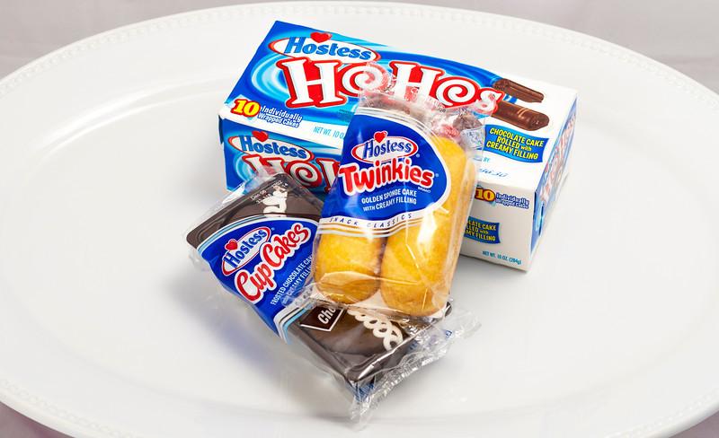 Hostess Cupcakes, Tweinkies and HoHo's