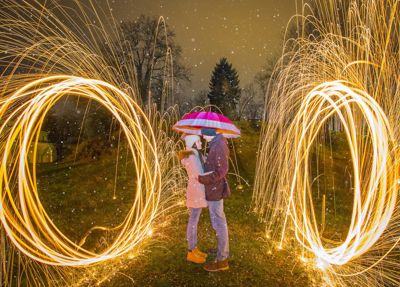 Frozen Sparks of Love