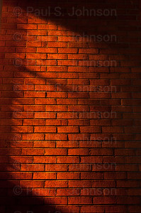 Shadows on Red Brick