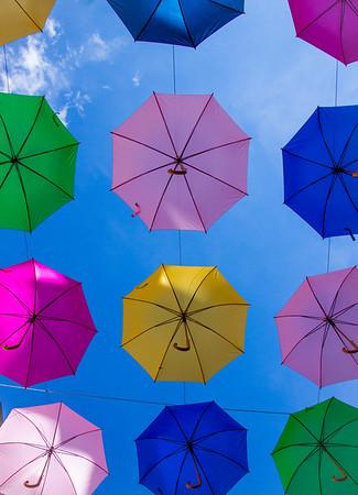 Umbrella Street Canopy
