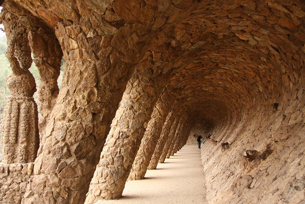 Park Guell by Gaudi - Barcelona
