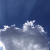 Sunrays Breaking Through Cloud